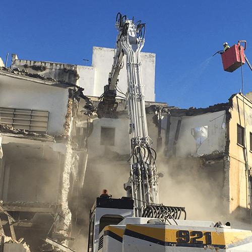 Equipos de demolición selectiva