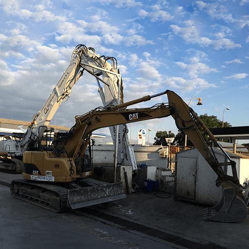 Excavadoras miniexcavadoras