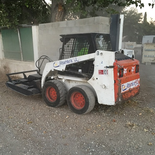 mini cargadora